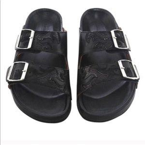 Isabel Marant Etoile Gail Leather Sandals. Size 41